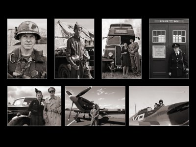 Fly to the Past: Portraits
